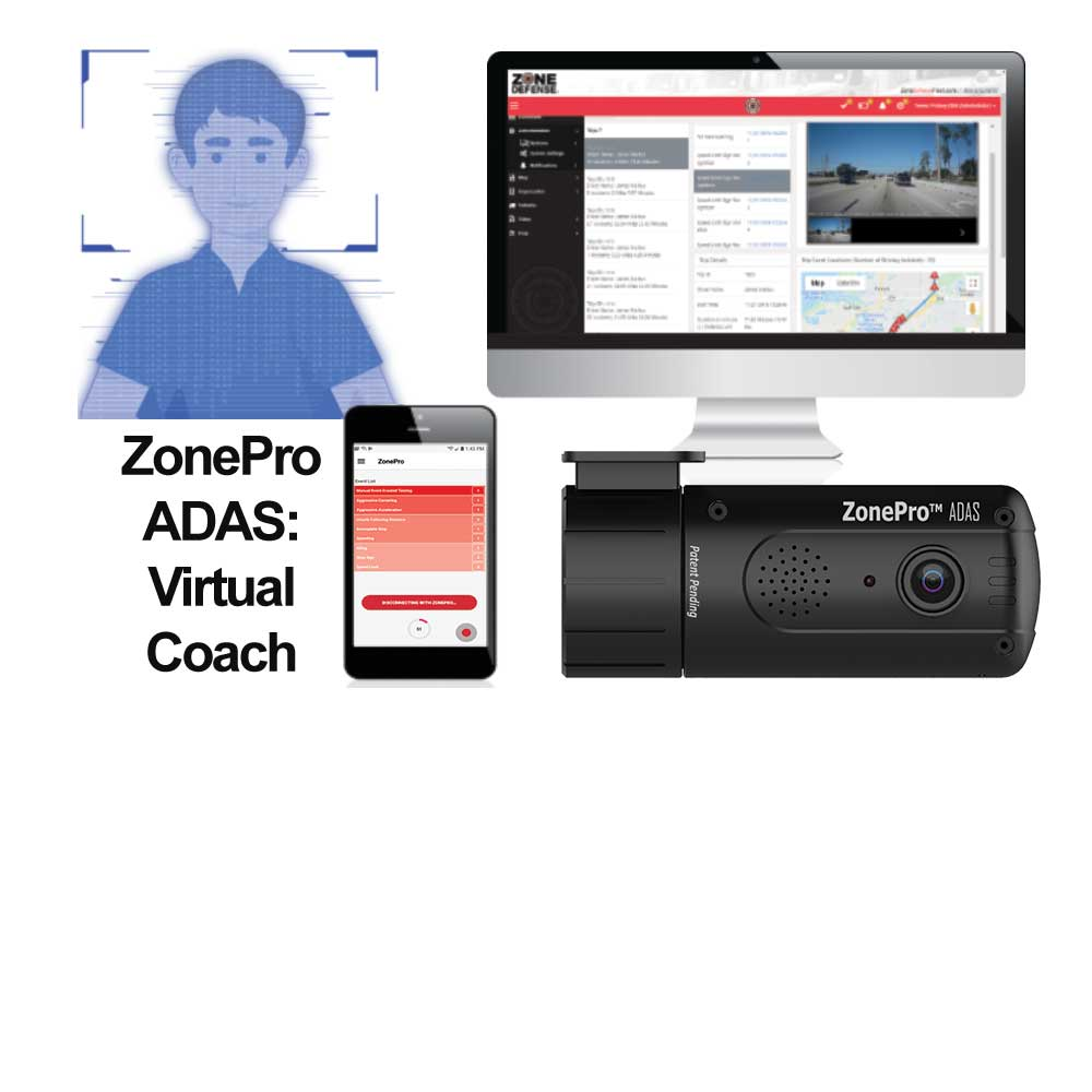 ZonePro ADAS: Your driver's virtual coach